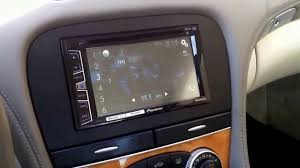 2006 2007 2008 mercedes sl 550 aftermarket stereo double ii 2 din