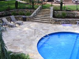 Travertine Patio Pavers by Falling In Love With Travertine Pavers Pool Deck Homesfeed