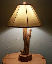 lighting cool black rustic table lamp ideas featuring wicker drum