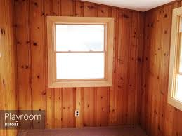 painted wood walls painting wood paneling knotty or rather square