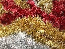 christmas tinsel christmas tinsel photograph by deborah brewer