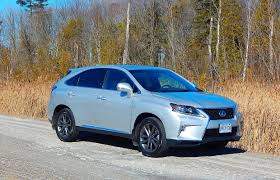 lexus sport tuned suspension suv review 2015 lexus rx 350 f sport driving