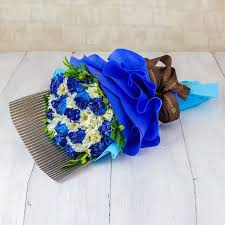 blue roses delivery bouquets flowers delivery malaysia fa104088 bouquet