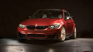 bmw jeep red bmw unveils one off 2018 m3 30 years american edition at the sema show