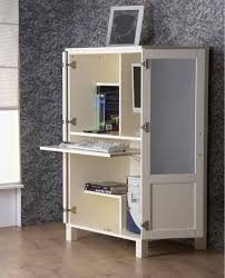 Computer Desk With Cabinets Desk Cabinets Hideaway