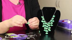 step by step directions for making stone necklaces diy jewelry