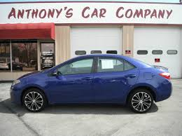 toyota corolla sport 2014 for sale 2014 toyota corolla s plus in racine wi anthony s car company