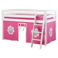 Superb Pink Loft Bed  Pink Cottage White Loft Bed Donco Kids - Jysk bunk bed