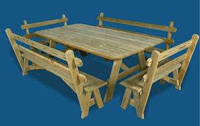 backyard billy u0027s 4 u0027 x 7 u0027 table shown with 6 u00276
