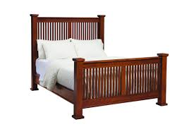 palettes by winesburg american craftsman mission bed dunk