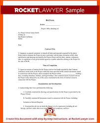 13 construction bid proposal template survey template words