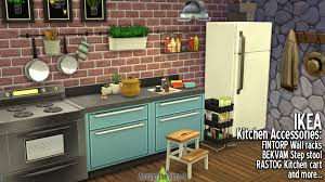 accessoires de cuisine ikea around the sims 4 custom content objects ikea kitchen