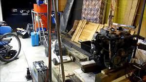 4jb1 isuzu engine startup after injector pump seal rebuild youtube