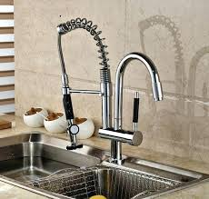 Sink Leaking From Faucet Kitchen Faucet With Sprayer Luxury Chrome Brass Kitchen Faucet