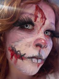 halloween costumes for bunny rabbits zombie rabbit makeup by habbia deviantart com on deviantart