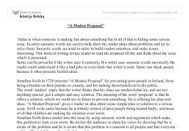 modest proposal essay examples uxhandy com
