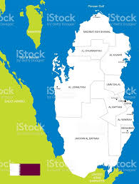 Map Of Bahrain Map Of Qatar Stock Vector Art 532376473 Istock