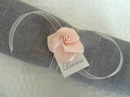 rond de serviette mariage 50 ronds de serviette marques places pour mariage en origami