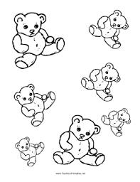 teddy bear templates png