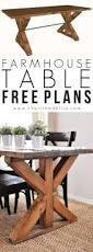 Farmhouse Dining Room Tables Best 25 Farmhouse Table Ideas On Pinterest Diy Farmhouse Table