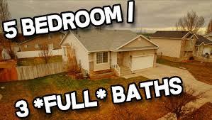 5 bedroom 3 bathroom clinton utah home for sale with open floor