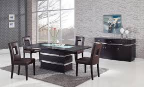 wenge frosted center glass wood global furniture usa g072dt dining set dining table wood