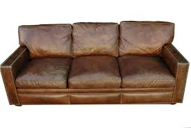 Distressed Leather Sofa Brown Vintage Distressed Leather Sofa Stribal Com Home Ideas Magazines