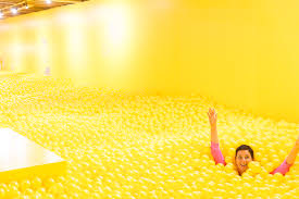 Yellow Room by Color Factory 12 000 Square Feet Of Color Experiences In San