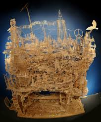 35 Best Sculptures Images On One Man 100 000 Toothpicks And 35 Years An Incredible Kinetic