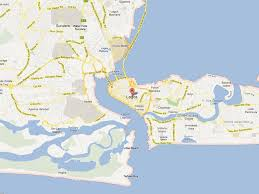 lagos city map lagos traffic the worst in the world business insider