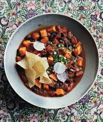 slow cooker red beans and rice cooking light slow cooker vegetarian chili with sweet potatoes recipe real simple