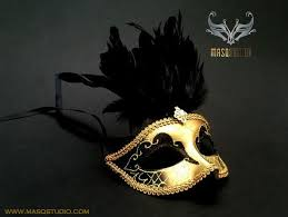 black and gold masquerade masks 50 shades of grey masquerade mask black gold masquerade