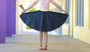 how to make a circle skirt for any age any size youtube