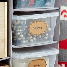 Plastic Storage Boxes For Christmas Decorations by Christmas Storage Hacks And Organizing Solutions