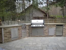 Cleveland Kitchen Equipment by Stacked Stone Outdoor Kitchen Traditional Patio Cleveland