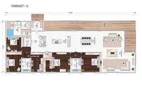 prefab house contemporary glue laminated wood energy
