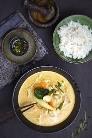 cuisiner citronnelle pâte de curry citronnelle curcuma maison