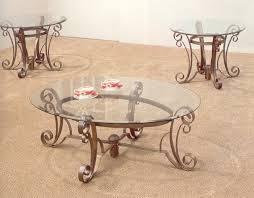 coffee tables ideas unbelievable glass coffee table sets and