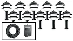 How To Install Low Voltage Led Landscape Lighting Low Voltage Led Landscape Lighting Home Depot Home Depot Outdoor