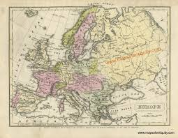 Historical Maps Of Europe by Europe Antique Maps And Charts U2013 Original Vintage Rare
