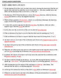 Speed Velocity And Acceleration Worksheet With Answers Carts And Rs Shirleyphysics