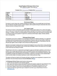 yearly employee review template eliolera com