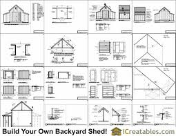 10x18 raised center aisle small barn shed plans barn shed plans