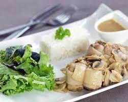 cuisiner paupiette recette paupiette de porc en sauce aux chignons