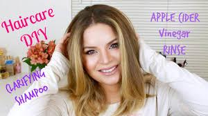 hair care diy clarifying shampoo u0026 apple cider vinegar rinse