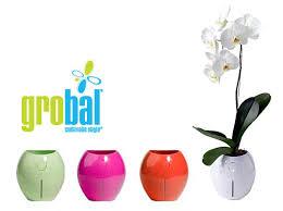 grobal self watering pot hydroponics karim rashid green home