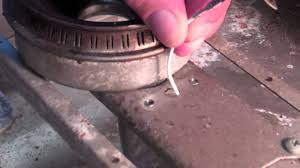 viking gas bbq grill repair side burner igniter electrode youtube