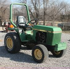 1988 john deere 755 mfwd tractor item ao9487 sold april