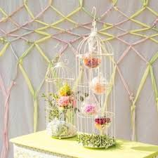 birdcage centerpieces bird cage themed party planning ideas supplies baby bridal