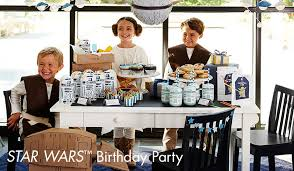 Barn Party Decorations Star Wars Party Pottery Barn Kids